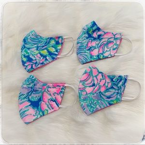 Handmade Lilly Pulitzer mask, adult